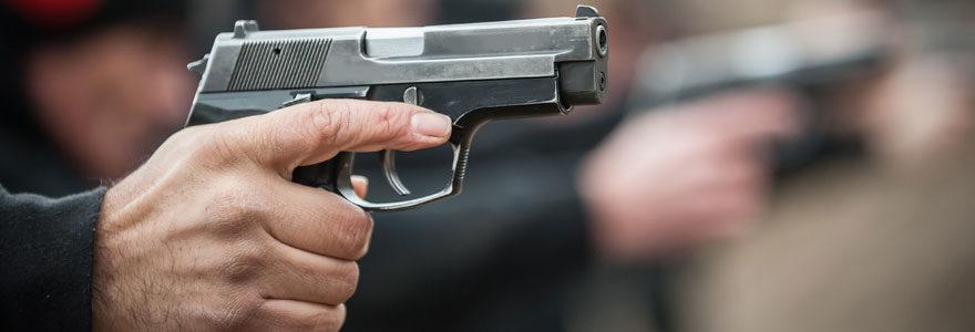 Pistolet a bille métal